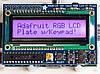 RGB LCD екран 16x2 з клавіатурою для Raspberry Pi від Adafruit