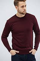 """Р-р М-2ХЛ Легкий мужской свитер """"Поло"""" серый, черный, бордовый, зеленый, электрик, индиго, джинс, шоколад"""