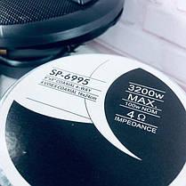 Автомобильная акустика SP-6995 (69, 4-х полосная max 3200 w), фото 3