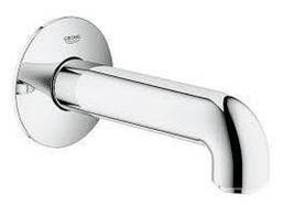 BauClassic Neutral Излив для ванны со стены, настенный монтаж, хром