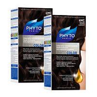 Крем-краска для волос PHYTO (Фито) Фитоколор тон 4 МС Шатен шоколадно-каштановый