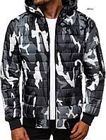 Куртка мужская J.Style с капюшоном светлый камуфляж
