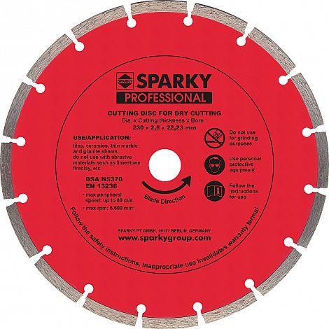 Алмазный диск 230х25x22,23 мм. (20009540200, 190367)