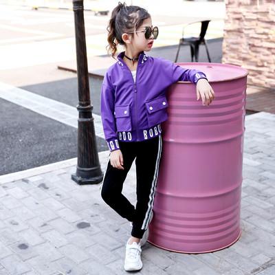Костюм детский для девочки с карманами
