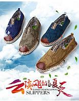 Мужские эспадрильи мокасины  3 цвета , фото 1