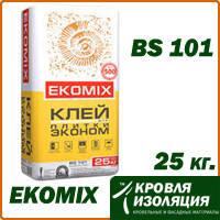 """Смесь EKOMIX """"Клей для плитки Эконом"""" BS 101, упаковка 25 кг"""