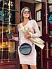 """Вязаное платье мелкие косы """"Галант"""", пряжа Италия.  Размер:S, M. Разные цвета (1061), фото 2"""