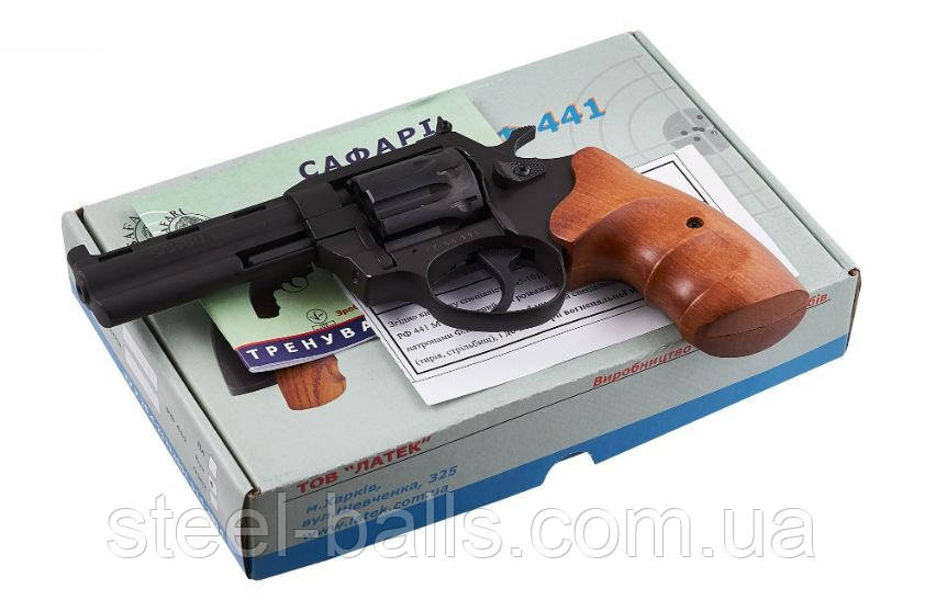 Револьвер под патрон Флобера Safari 441М Бук