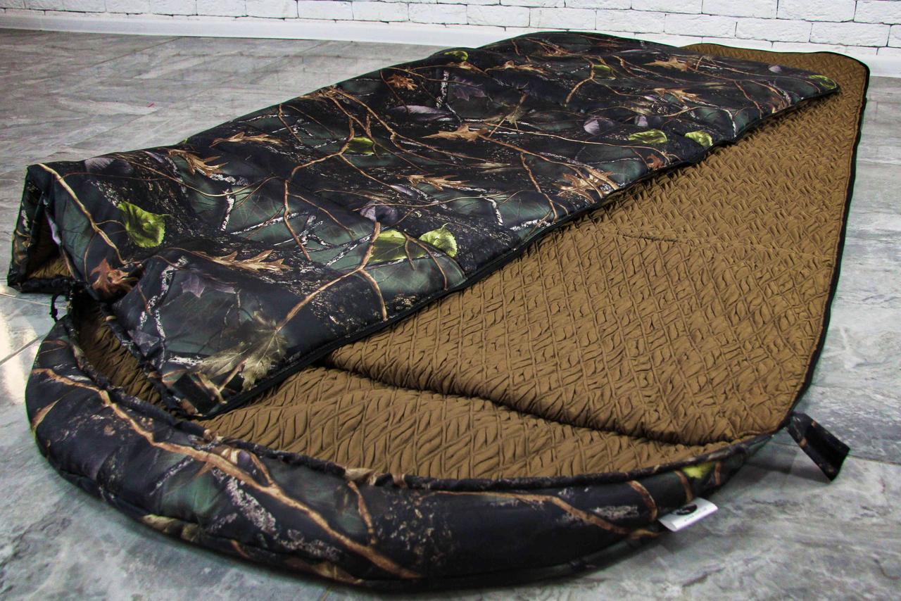 Широкий спальный мешок, спальник одеяло -15/+5 Arvisa