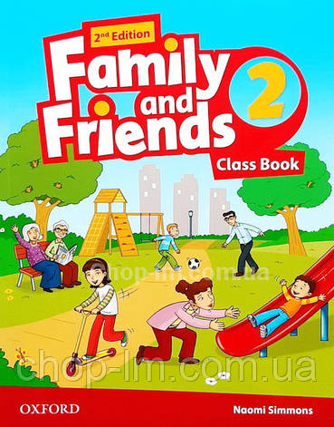 Family and Friends 2nd (second) Edition 2 Class Book (учебник 2-е/второе издание), фото 2
