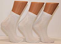 Детские белые ажурные носочки 5.7