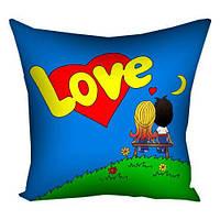 """Подушка """"Love"""", 40х40 см"""