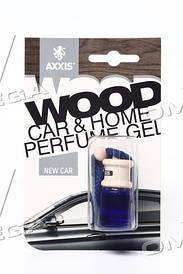 """Ароматизатор AXXIS """"Wood"""" New Car 7ml"""