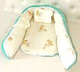Переноска для новорожденных детей, бирюзовая, фото 2