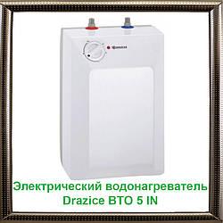 Электрический водонагреватель Drazice BTO 5 IN