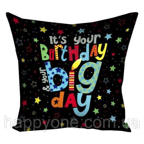 """Подушка """"Birthday"""", 30х30 см"""