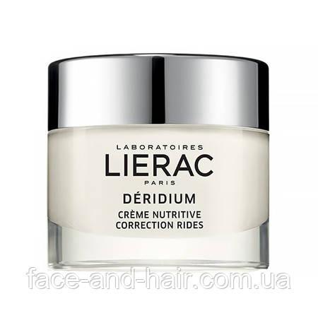 Крем питательный против морщин для сухой кожи Lierac DÉRIDIUM CRÈME NUTRITIVE, 50 мл