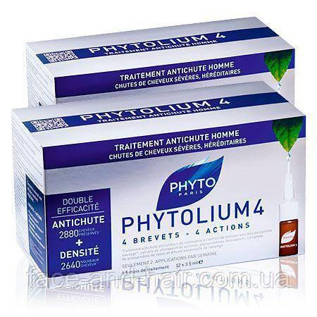 Концентрат против выпадения волос Фито Фитолиум 4 PHYTO Phytolium 4, 12x3,5 мл