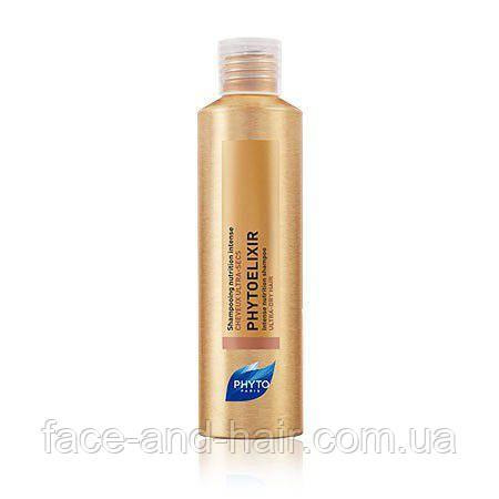 Шампунь питание для очень сухих волос Фито Фитоеликсир PHYTO PHYTOELIXIR SHAMPOOING NUTRITION INTENSE 200 мл