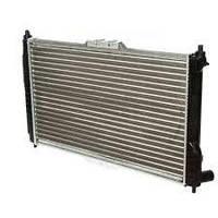 Радиатор охлаждения Daewoo Lanos 1997- (635*382*16mm) МКПП для автомобилей с кондиционером