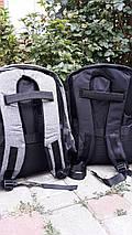 """Городской рюкзак Bobby антивор 15,6"""" с системой usb-зарядки (бобби рюкзак для ноутбук), Реплика супер качество, фото 3"""