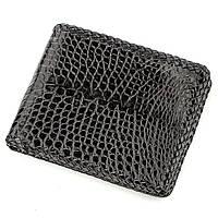 Бумажник мужской Ekzotic Leather из натуральной кожи крокодила Черный (cw 119), фото 1