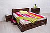 Кровать из массива, двухспальная - Айрис с ящиками1600*2000, фото 3
