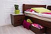 Кровать из массива, двухспальная - Айрис с ящиками1600*2000, фото 4