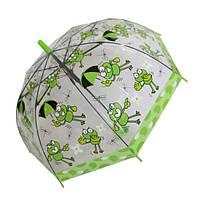 """Детский зонтик трость c ярким рисунками  от фирмы """"Feeling Rain"""""""