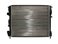 Радиатор охлаждения Renault Kangoo (1.5-1.6) 1997- (480*415*23mm)