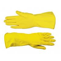 Перчатки резиновые с внутренним напылением Technics 12шт