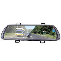 "Зеркало видеорегистратор 10"" Lesko Car K62 для авто ночная съемка камера заднего вида 1080P функция WDR, фото 3"