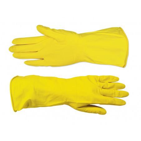 Перчатки резиновые с внутренним напылением Technics 12шт XL