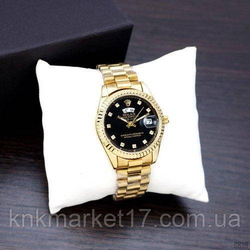 Date Just Diamonds Small Gold-Black
