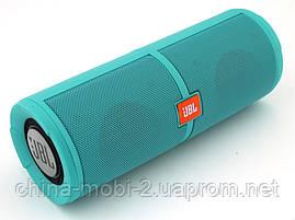 JBL Charge 5+ 6W копия, портативная колонка с Bluetooth FM MP3, Teal зеленая  мята , фото 3