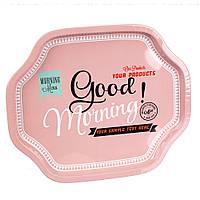 "Металлический поднос ""Good Morning"" (33х27х2 см.)"