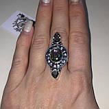 Мистик топаз кольцо с мистическим топазом в серебре. Размер 17,5-18 Индия!, фото 2
