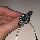 Мистик топаз кольцо с мистическим топазом в серебре. Размер 17,5-18 Индия!, фото 3