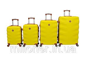 Чемодан Bonro Next набор 4 шт. желтый, фото 2