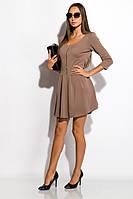 Платье женское 120P071 (Темно-бежевый) t-120P071_c1297