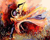 """Картина по номерам """"Страстный танец"""" Rainbow Art"""
