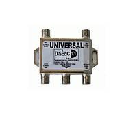 DiSEqC 1.1 4x1 Universal - коммутатор (переключатель) для спутниковой антенны