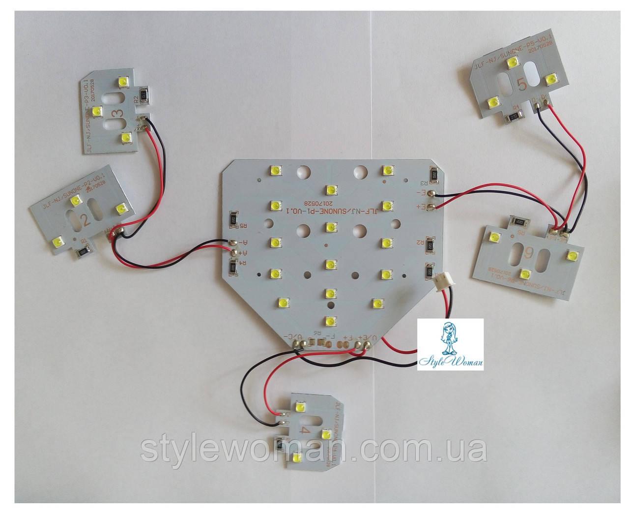 Сменная UV Led пластина SUN ONE  для ламп мощностью 48 вт