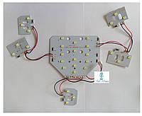 Сменная UV Led пластина SUN ONE  для ламп мощностью 48 вт, фото 1