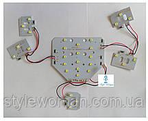 Змінна UV Led пластина SUN ONE для ламп потужністю 48 вт