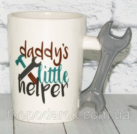 Чашка Гаечный ключ (11х13х8.5см)