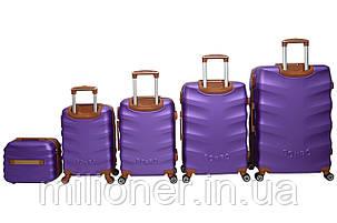 Чемодан Bonro Next набор 5 шт. фиолетовый, фото 2