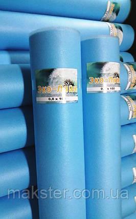 Одноразові блакитні простирадла Еко-лайн 0,8х100м, фото 2