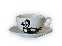 Чашка с блюдцем Додо джамбо Wilmax 250 мл