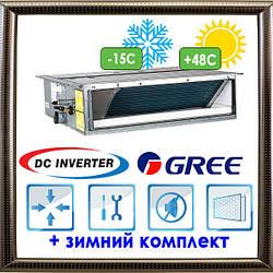 Канальные блоки U-Match с инвертором GFH48K3FI/GUHD48NM3FO кондиционер GREE